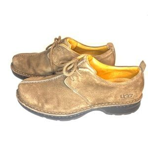 Mens UGG Oxford Suede Shoes